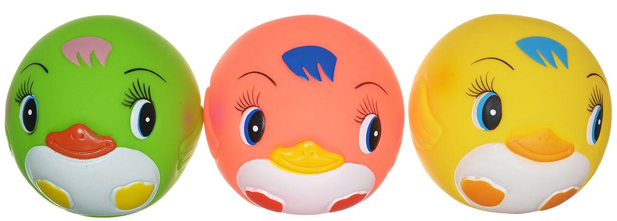 Курносики Игрушка для ванной Мячики-пингвины цвет желтый розовый салатовый 3 шт25083_желтый, розовый, салатовыйИгрушка для ванной Мячики-пингвины изготовлена из прочного безопасного материала. Игрушки для ванной радуют малышей и превращают купание в удовольствие! Мячики-пингвины способствуют развитию мелкой моторики, воображения и концентрации внимания, а также помогут научить ребенка различать цвета, распознавать форму и размер предметов.