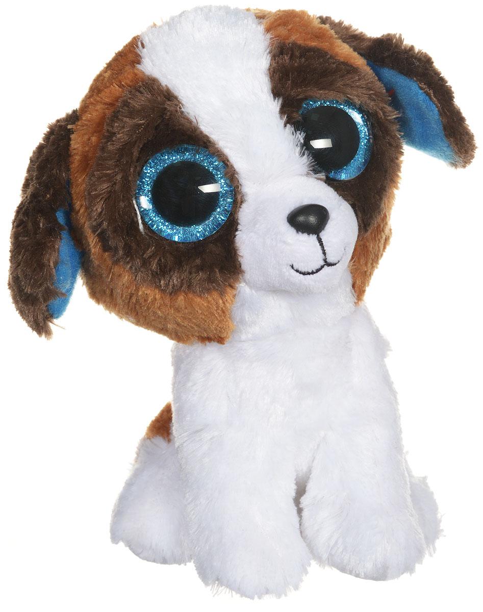 TY Мягкая игрушка Щенок Duke 15 см36125Очаровательная мягкая игрушка TY Щенок Duke, выполненная в виде щенка, непременно вызовет улыбку и симпатию и у детей, и у взрослых. Трогательный щенок с блестящими пластиковыми глазками изготовлен из высококачественного текстильного материала с мягкой набивкой. Специальные гранулы, также используемые при набивке игрушки, способствуют развитию мелкой моторики рук малыша. Удивительно мягкая игрушка принесет радость и подарит своему обладателю мгновения нежных объятий и приятных воспоминаний. Великолепное качество исполнения делают эту игрушку чудесным подарком к любому празднику.
