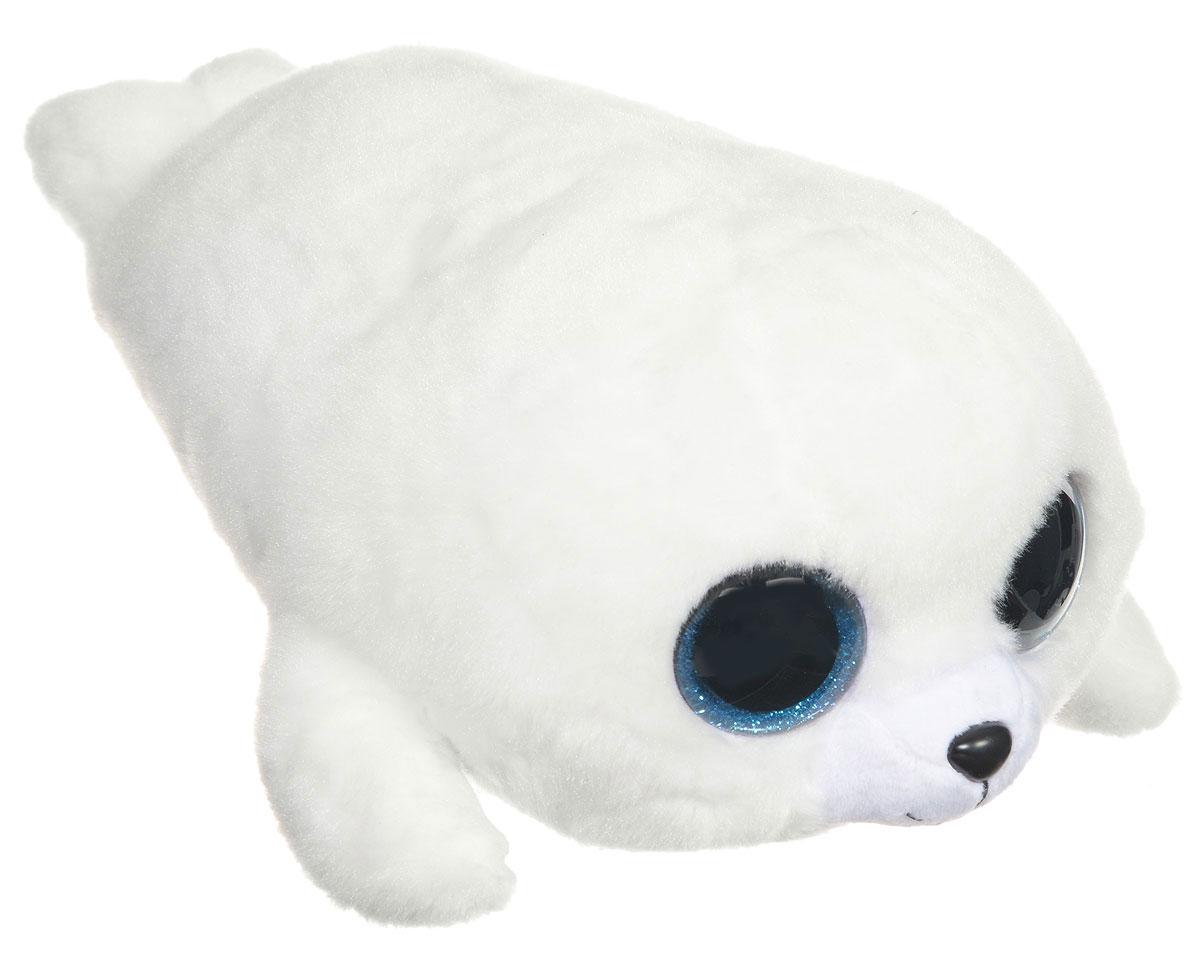 TY Мягкая игрушка Белый тюлень Icy 30 см37046Очаровательная мягкая игрушка TY Белый тюлень Icy  вызовет умиление и улыбку у каждого, кто ее увидит. Игрушка выполнена в виде белоснежного тюленя с милой мордочкой, блестящими глазками и смешными лапками. Специальные гранулы, используемые при ее набивке, способствуют развитию мелкой моторики рук малыша. Она изготовлена из высококачественного, гипоаллергенного материала, не вызывающего раздражения на коже. Такая игрушка станет замечательным подарком, как ребенку, так и взрослому и украсит любой интерьер. Великолепное качество исполнения делают эту игрушку чудесным подарком к любому празднику.