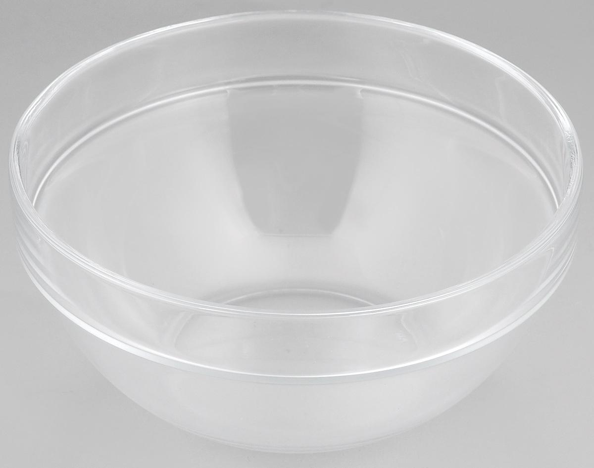 Миска Luminarc Empilable, диаметр 17 смE9218Миска Luminarc Empilable выполнена из высококачественного стекла. Изделие сочетает в себе лаконичный дизайн с максимальной функциональностью. Она прекрасно впишется в интерьер вашей кухни и станет достойным дополнением к кухонному инвентарю. Миска Luminarc Empilable подчеркнет прекрасный вкус хозяйки и станет отличным подарком. Диаметр миски (по верхнему краю): 17 см. Высота стенки: 8 см.