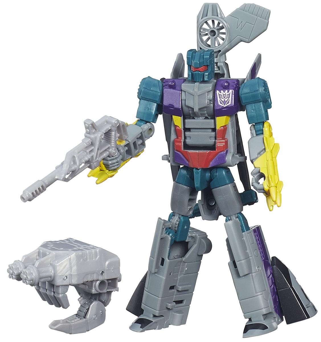 Transformers Трансформер VortexB0974_B4659Трансформер Vortex привлечет внимание любого поклонника знаменитых Трансформеров! Фигурка выполнена из прочного пластика в виде трансформера-Вортекса. Руки и ноги робота подвижны. В несколько простых шагов малыш сможет трансформировать фигурку робота в боевой вертолет. Ребенок с удовольствием будет играть с фигуркой, придумывая разные истории. Порадуйте его таким замечательным подарком!