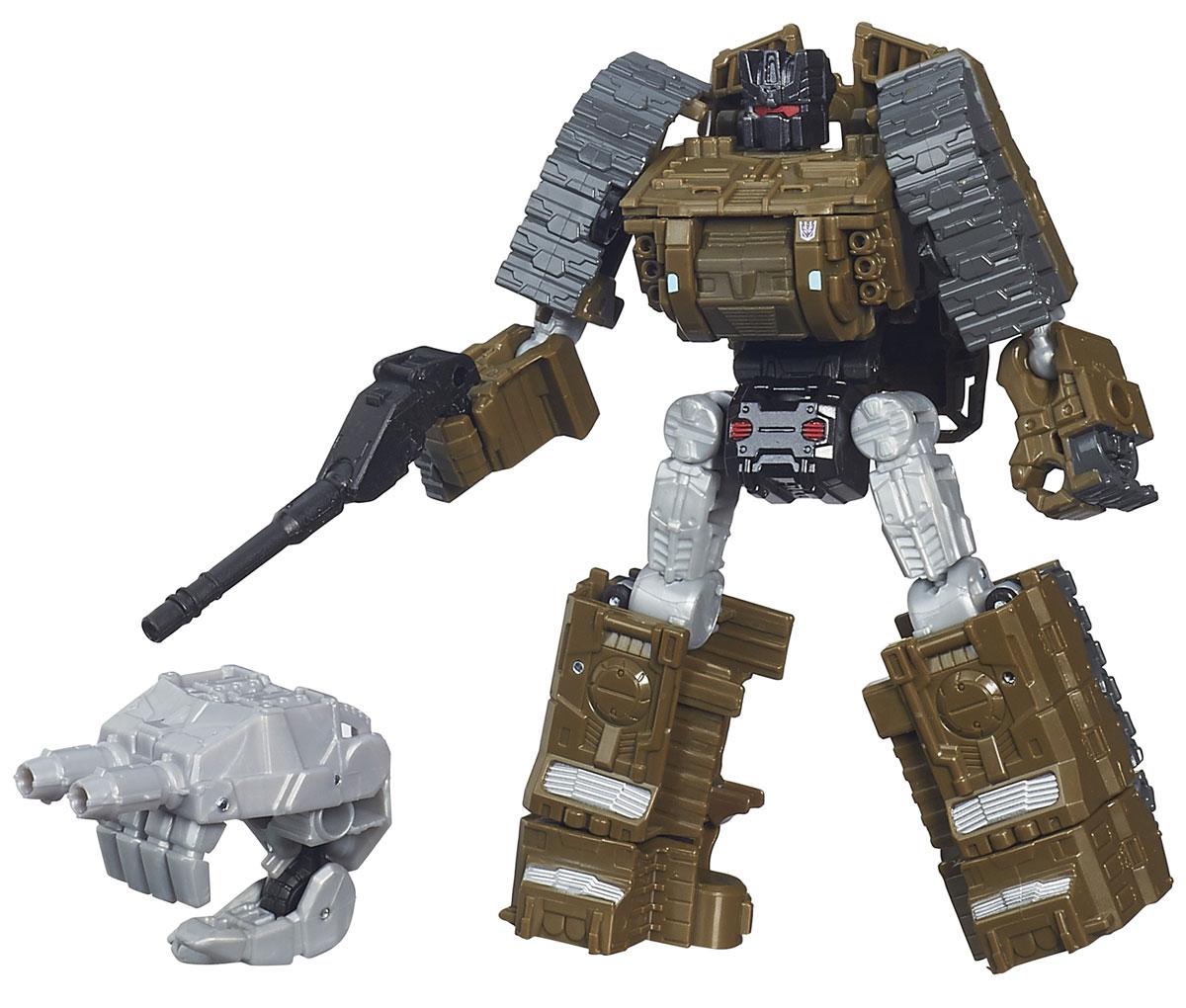 Transformers Трансформер BrawlB0974_B4660Трансформер Brawl обязательно понравится любому маленькому поклоннику знаменитых Трансформеров! Фигурка выполнена из прочного пластика в виде трансформера-Броула. В несколько простых шагов ребенок сможет трансформировать фигурку робота в боевой танк. Данный трансформер обладает огромной силой и практически неуязвим для обычной артиллерии. Броул фактически не умеет вести себя тихо, что легко выдает его еще до появления на поле боя. Ребенок с удовольствием будет играть с фигуркой, придумывая разные истории. Порадуйте его таким замечательным подарком!