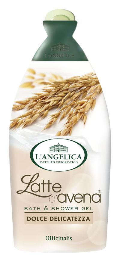 L'angelica (0621) Гель для душа и ванны с овсяным молочком, 500 мл 535-0-09769