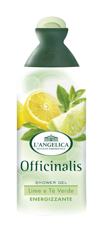 L'angelica (0812) Гель для душа Лайм и Зеленый чай, 250 мл 535-0-09798