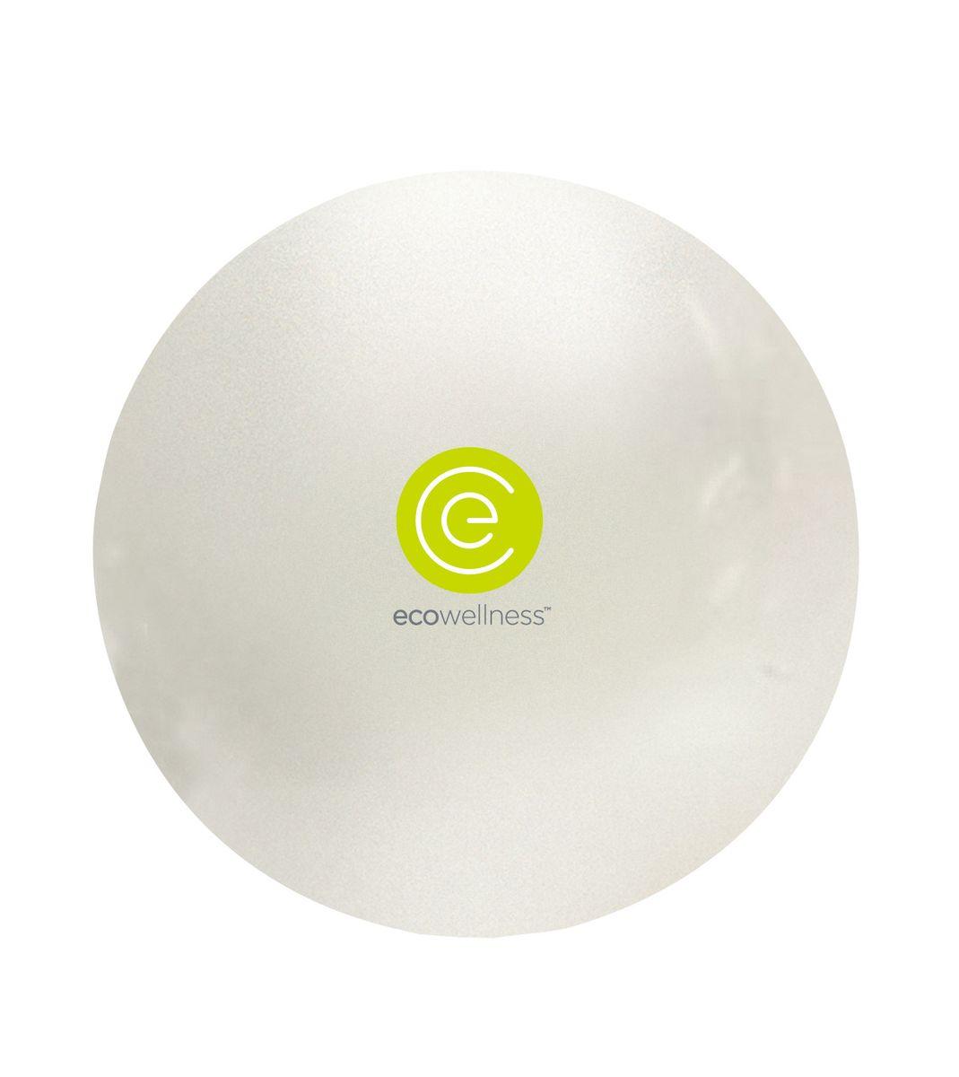 Мяч гимнастический Ecowellness, c ручным насосом, цвет: белый, диаметр 75 смQB-001TAG3-30DМяч Ecowellness предназначен для гимнастических и медицинских целей в лечебных упражнениях. Он выполнен из прочного гипоаллергенного ПВХ. Прекрасно подходит для использования в домашних условиях. Данный мяч можно использовать для: реабилитации после травм и операций, восстановления после перенесенного инсульта, стимуляции и релаксации мышечных тканей, улучшения кровообращения, лечении и профилактики сколиоза, при заболеваниях или повреждениях опорно-двигательного аппарата. УВАЖЕМЫЕ КЛИЕНТЫ! Обращаем ваше внимание на тот факт, что мяч поставляется в сдутом виде. Насос входит в комплект.