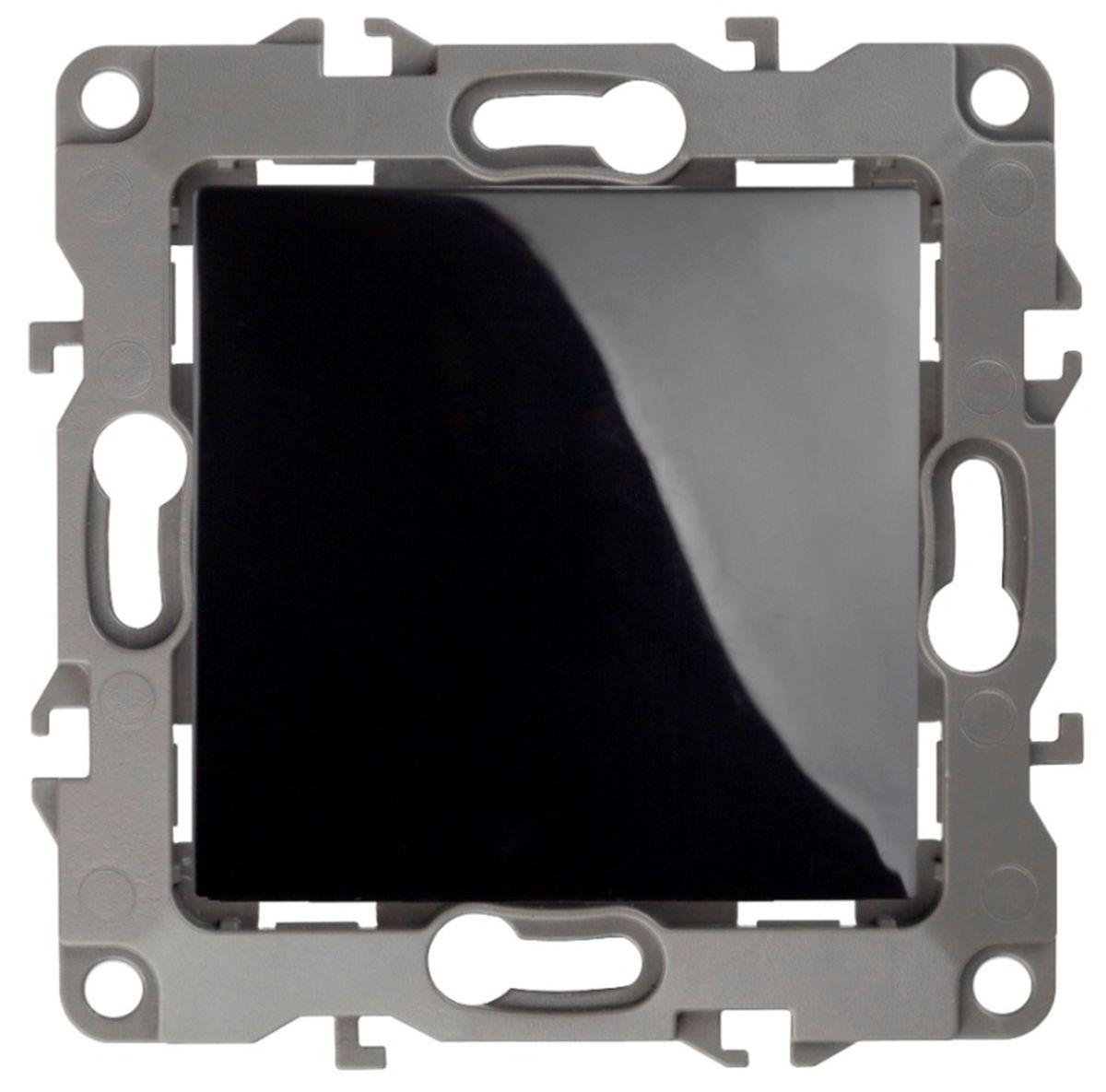 Выключатель ЭРА, 10АХ-250В, без м.лапок, Эра12, черный12-1001-06Автоматические зажимы. Такие зажимы кабеля обеспечивают быстрый и надежный монтаж изделия к электросети без отвертки и не требуют обслуживания в отличие от винтовых зажимов.