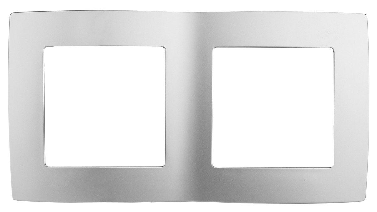 Рамка для встраиваемой розетки Эра, на 2 поста, горизонтальный и вертикальный монтаж, цвет: алюминий12-5002-03Рамка Эра выполнена из пластика и используется для окантовки встраиваемой розетки. Возможен как горизонтальный, так и вертикальный монтаж изделия. Рамка отвечает основным требованиям безопасности и удобства монтажа. Современный дизайн и элегантная цветовая гамма подойдут к любому интерьеру. Размер рамки: 15 х 8 х 1 см.