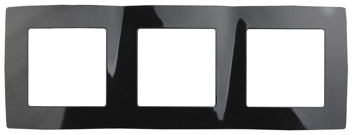 Рамка для встраиваемой розетки Эра, на 3 поста, горизонтальный и вертикальный монтаж, цвет: черный12-5003-06Рамка Эра выполнена из пластика и используется для окантовки встраиваемой розетки. Возможен как горизонтальный, так и вертикальный монтаж изделия. Рамка отвечает основным требованиям безопасности и удобства монтажа. Современный дизайн и элегантная цветовая гамма подойдут к любому интерьеру. Размер рамки: 22,5 х 8 х 1 см.