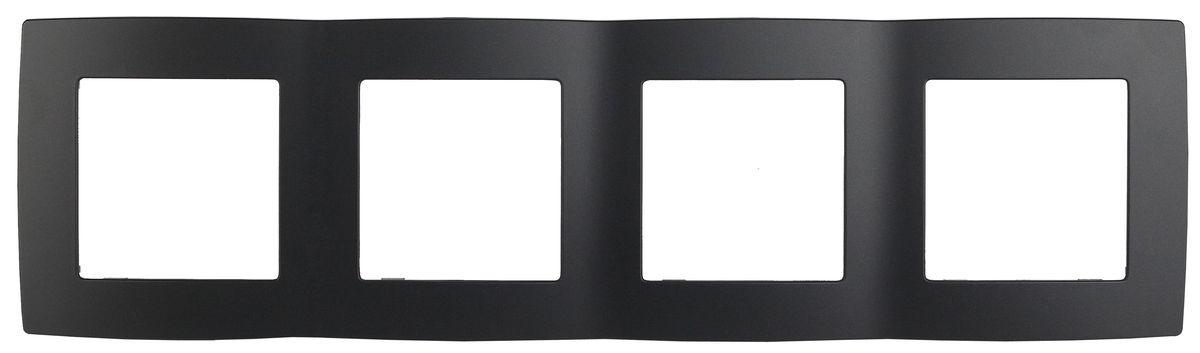 Рамка для встраиваемой розетки Эра, на 4 поста, горизонтальный и вертикальный монтаж, цвет: антрацит12-5004-05Рамка Эра выполнена из пластика и используется для окантовки встраиваемой розетки. Возможен как горизонтальный, так и вертикальный монтаж изделия. Рамка отвечает основным требованиям безопасности и удобства монтажа. Современный дизайн и элегантная цветовая гамма подойдут к любому интерьеру. Размер рамки: 29,5 х 8 х 1 см.