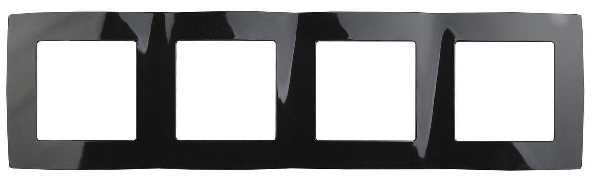 Рамка для встраиваемой розетки Эра, на 4 поста, горизонтальный и вертикальный монтаж, цвет: черный12-5004-06Рамка Эра выполнена из пластика и используется для окантовки встраиваемой розетки. Возможен как горизонтальный, так и вертикальный монтаж изделия. Рамка отвечает основным требованиям безопасности и удобства монтажа. Современный дизайн и элегантная цветовая гамма подойдут к любому интерьеру. Размер рамки: 29,5 х 8 х 1 см.