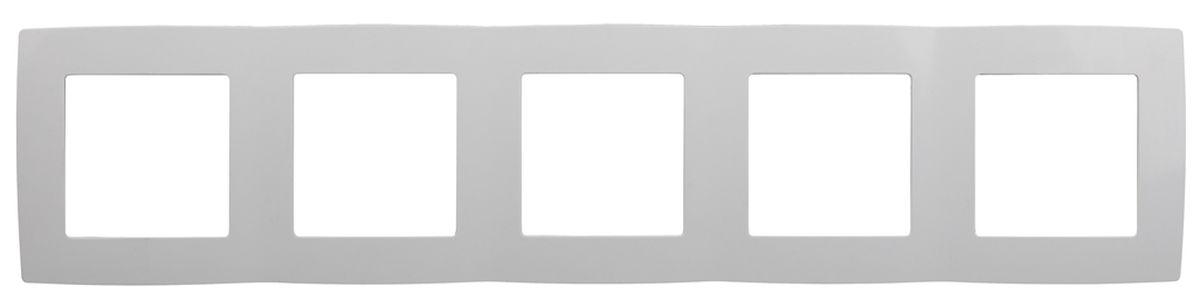 Рамка для встраиваемой розетки Эра, на 5 постов, горизонтальный и вертикальный монтаж, цвет: белый12-5005-01Рамка Эра выполнена из пластика и используется для окантовки встраиваемой розетки. Возможен как горизонтальный, так и вертикальный монтаж изделия. Рамка отвечает основным требованиям безопасности и удобства монтажа. Современный дизайн и элегантная цветовая гамма подойдут к любому интерьеру. Размер рамки: 36,5 х 8 х 1 см.
