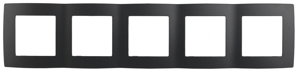 Рамка для встраиваемой розетки Эра, на 5 постов, горизонтальный и вертикальный монтаж, цвет: антрацит12-5005-05Рамка Эра выполнена из пластика и используется для окантовки встраиваемой розетки. Возможен как горизонтальный, так и вертикальный монтаж изделия. Рамка отвечает основным требованиям безопасности и удобства монтажа. Современный дизайн и элегантная цветовая гамма подойдут к любому интерьеру. Размер рамки: 36,5 х 8 х 1 см.