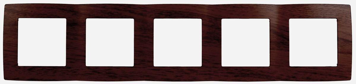 Рамка для встраиваемой розетки Эра, на 5 постов, горизонтальный и вертикальный монтаж, цвет: венге12-5005-10Рамка Эра выполнена из пластика и используется для окантовки встраиваемой розетки. Возможен как горизонтальный, так и вертикальный монтаж изделия. Рамка отвечает основным требованиям безопасности и удобства монтажа. Современный дизайн и элегантная цветовая гамма подойдут к любому интерьеру. Размер рамки: 36,5 х 8 х 1 см.