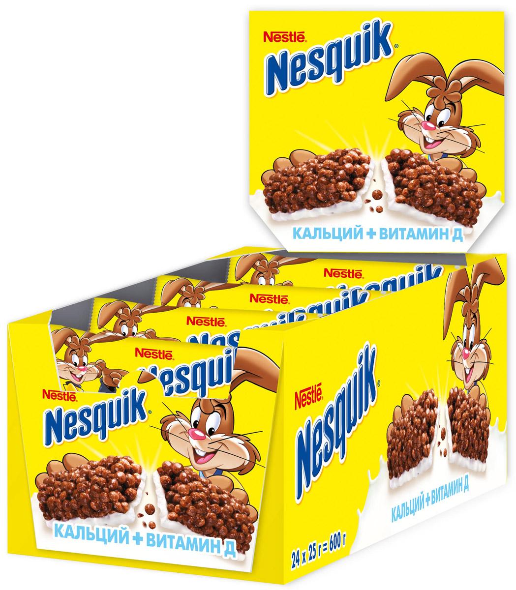 Шоколадный батончик Nestle Nesquik (Нестле Несквик) с цельными злаками - полезный и удобный перекус для вашего ребенка! Батончик Nesquik поможет ему подзарядиться энергией в школе и дома. Содержит цельные злаки и обогащены витаминами D, B2, B6, ниацином, фолиевой кислотой, пантотеновой кислотой, кальцием и железом. Сложные углеводы, содержащиеся в цельных злаках перевариваются медленнее и позволяют сохранять чувство сытости дольше. Продукт может содержать незначительно количество сои и орехов.