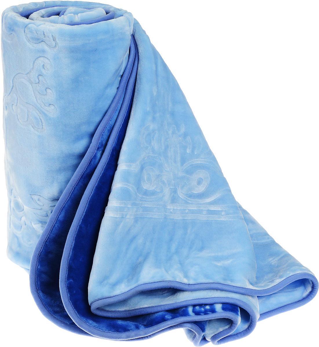 Плед Tomilon, цвет: голубой, 220 х 240 см58396Плед Tomilon - это идеальное решение для вашего интерьера! Изделие выполнено из полиэстера. Благодаря беспрецедентной стойкости и ровности красок, изделие не выгорает на солнце и остается первозданно ярким в течение продолжительного времени. Плед теплый, нежный, подкупающий не только высокими потребительскими характеристиками, но и уникальным, оригинальным внешним видом. Плед - это такой подарок, который будет всегда актуален, особенно для ваших родных и близких, ведь вы дарите им частичку своего тепла!
