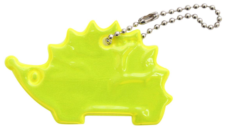 Декоративное подвесное украшение Bestex Ежик, светоотражающее, цвет: желтый , 2 шт.7714889_желтый