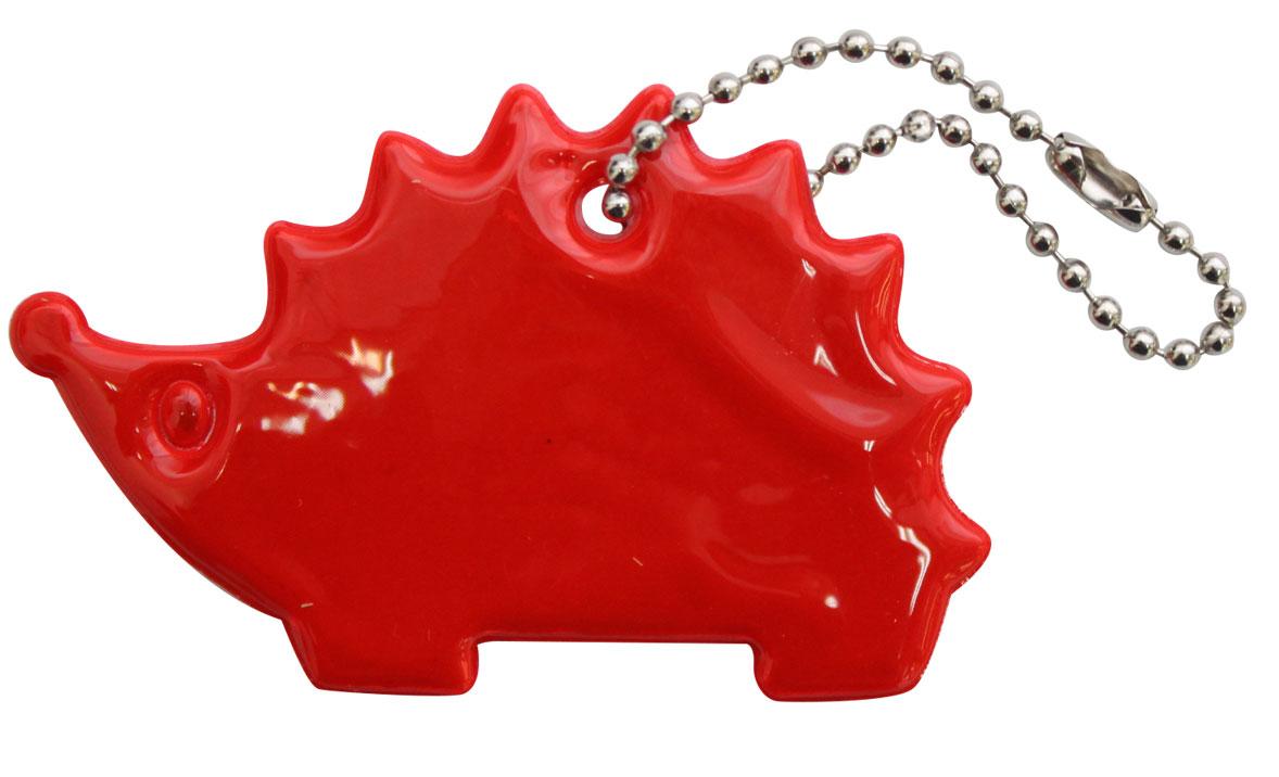 Декоративное подвесное украшение Bestex Ежик, светоотражающее, цвет: красный , 2 шт.7714889_красный