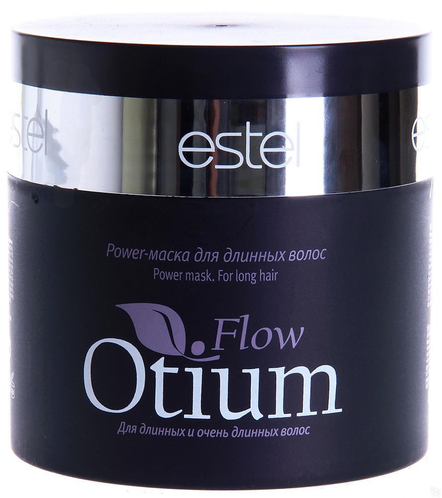 Estel Otium Flow Power-маска для длинных волос 300 млОТ.90/19Estel Otium Flow Power - маска для длинных волос. Богатая кремовая маска с комплексом Flow Revivаl, коллагеном и пантенолом глубоко регенерирует и питает тонкие и ломкие волосы, восстанавливает и поддерживает идеальный баланс влажности. Придаёт волосам жизненную силу, возвращает яркий сияющий блеск.