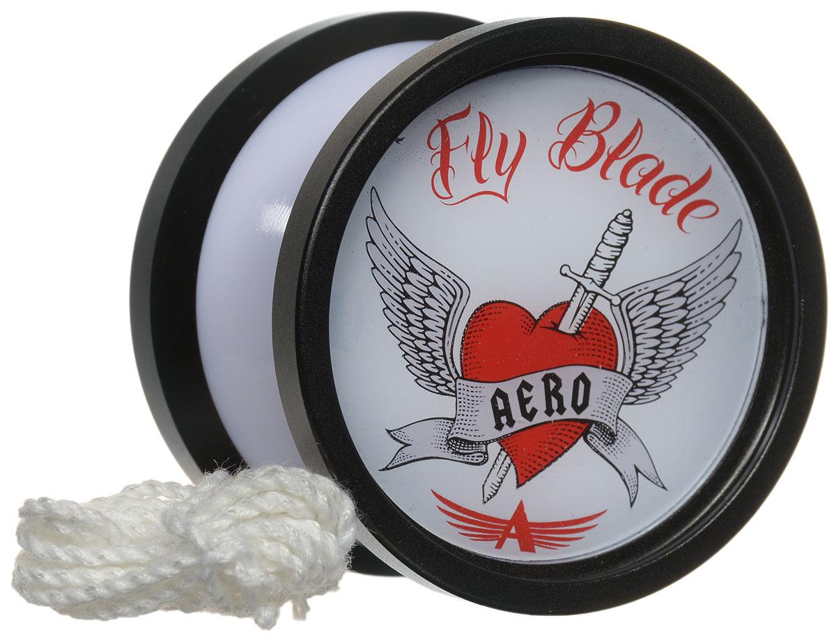 Aero-Yo Йо-йо Aero Fly Blade цвет черный732027Йо-йо Aero Fly Blade - доступное композитное йо-йо. Отличное сочетание формы, веса и динамики алюминиевых ободов. Широкий подшипник позволяет делать сложные трюки, а резиновая тормозная система делает игру чрезвычайно мягкой. Йо-йо - это игрушка, состоящая из двух симметричных половинок соединенных осью, к которой прикреплена веревка. Современный йо-йо значительно отличается от тех, к которым многие привыкли. Сейчас йо-йо - это такая же часть молодежной культуры как скейт, ВМХ или сноуборд. Йо-йо популярно во многих странах мира, таких как Россия, США и Япония. Ежегодно во всем мире проходят различные чемпионаты по игре с йо-йо, в том числе и Чемпионат России, в котором собираются лучшие игроки со всей страны. Aero Yo-Yos - российский модельный ряд модных молодежных игрушек йо-йо. Каждая модель - результат сочетания высокотехнологичных материалов и сложных разработок. Каждое йо-йо тщательно отобрано и протестировано вручную профессиональными игроками. На...