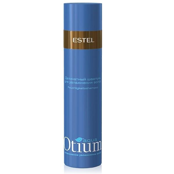 Estel Otium Aqua Mild - Шампунь для волос увлажняющий 250 мл (безсульфатный)ОТ.122Estel Otium Aqua Mild - шампунь для волос увлажняющий бережно очищает волосы, подходит для ежедневного применения. Поддерживает естественный гидро - липидный баланс кожи головы, укрепляет структуру волос. Мощный увлажняющий комплекс True Aqua Balance с натуральным бетаином и аминокислотами улучшает состояние сухих, повреждённых волос, способствует удержанию влаги внутри волоса, не утяжеляя его. Делает волосы шелковистыми, здоровыми, придает мягкость и блеск. Обладает антистатическим эффектом. Не содержит лаурет сульфат натрия (новая современная тенденция в сегменте моющих средств по уходу за волосами и телом).