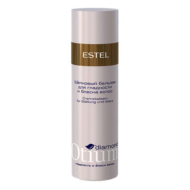 Estel Otium Diamond Silk - бальзам для гладкости и блеска волос 200 млОТ.102Estel Otium Diamond Silk - бальзам для гладкости и блеска волос. Шёлковый бальзам с комплексом D & М разглаживает поверхность волос, укрепляет их структуру, дисциплинирует непослушные локоны. Придаёт гладкость шёлка, упругость и эластичность, насыщает бриллиантовым блеском.