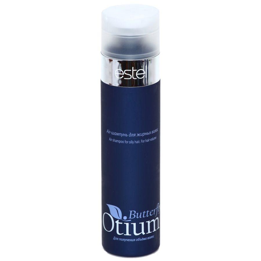 Estel Otium Butterfly Air-шампунь для жирных волос 250 млOT.97Estel Otium Butterfly Air - шампунь для жирных волос. Мягкий шампунь с комплексом Butterfly и пантенолом деликатно очищает жирные волосы, придаёт им лёгкость, воздушность, дополнительный объём, наполняет сияющим блеском.