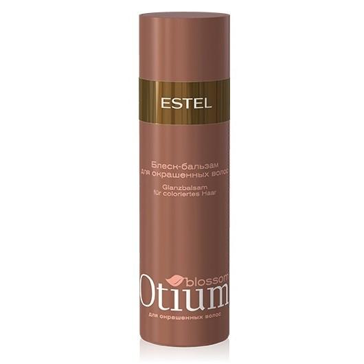 Estel Otium Blossom Блеск-бальзам для окрашенных волос 200 млOT.84Estel Otium Blossom Блеск - бальзам для окрашенных волос. Нежная эмульсия с маслом какао и комплексом Blossom Cаre & Color бережно ухаживает за окрашенными волосами, предотвращает преждевременное вымывание цвета. Интенсивно кондиционирует, придаёт сияющий глянцевый блеск и шелковистость. Идеален в сочетании с Крем - шампунем Otium Blossom для окрашенных волос. Для ежедневного применения.