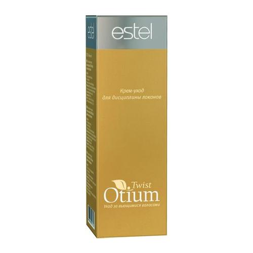 Estel Otium Twist Крем-уход для дисциплины локонов 100 млOT.81Estel Otium Twist Крем - уход для дисциплины локонов. Комплекс Twist Order и протеины шёлка оживляют, защищают и увлажняют как натурально вьющиеся, так и химически завитые волосы. Обеспечивает идеальную форму и великолепный контроль завитка при сушке феном или диффузором. Восстанавливает природную структуру волоса, нормализует гидробаланс, возвращая локонам естественную силу и блеск.