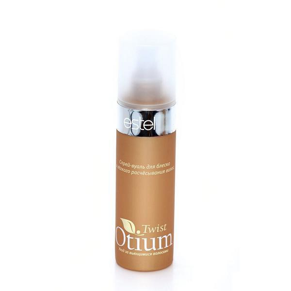 Estel Otium Twist Спрей-вуаль для блеска и легкого расчесывания волос 200 млOT.80Estel Otium Twist Спрей - вуаль для блеска и лёгкого расчёсывания волос. Мгновенно распутывает волосы, создаёт защитную вуаль от негативных внешних воздействий. Благодаря комплексу Twist Shine & Untаngle с протеинами пшеницы облегчает расчёсывание вьющихся волос, не утяжеляя локоны и наполняя их ослепительным блеском