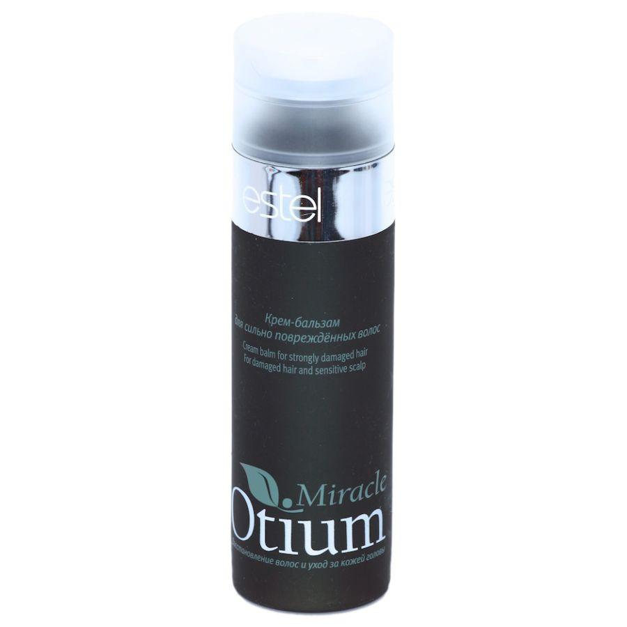 Estel Otium Miracle Крем-бальзам для сильно поврежденных волос 200 млOT.108Estel Otium Miracle Крем - бальзам для сильно поврежденных волос. Богатый кремовый бальзам с комплексом Mirаcle Revivаl, маслом жожоба и витаминами восстанавливает структуру сильно повреждённых волос, возвращает им природную эластичность и гладкость, предотвращает ломкость. Придаёт волосам ощущение роскошной мягкости и нежной шелковистости, насыщает блеском. Идеален в сочетании с Мягким шампунем Otium Mirаcle для сильно повреждённых волос.