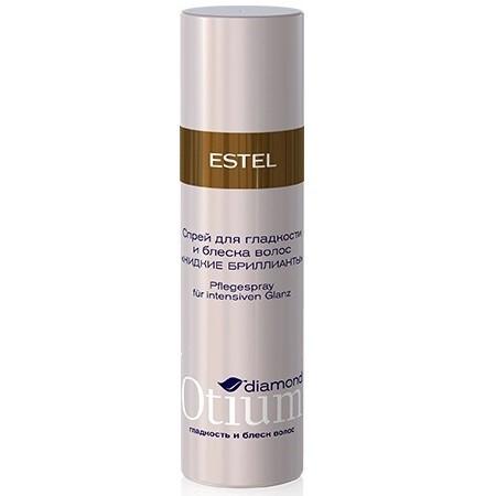 Estel Otium Diamond Crystal fluid - Спрей-блеск для волос 100 млOT.105Estel Otium Diamond Crystal fluid - Спрей - блеск для волос. Мгновенно придаёт волосам ослепительный бриллиантовый блеск, защищает от неблагоприятных внешних воздействий.