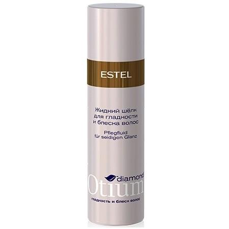 Estel Otium Diamond Crystal fluid - Жидкий шелк для волоc 100 млOT.104Estel Otium Diamond Crystal fluid - Жидкий шелк для волоc. Лёгкий флюид с комплексом D & М обволакивает каждый волосок тончайшей вуалью, не утяжеляет волосы, обеспечивает насыщенный, переливающийся, бриллиантовый блеск.