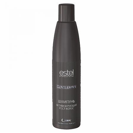 Estel Curex Gentleman Шампунь активизирующий рост волос, 300 млCUM300/S12Шампунь, активизирующий рост волос, Estel Curex Gentleman. Мягко очищает волосы и кожу головы. Витамин РР и биотин оказывают деликатное воздействие на луковицы ослабленных волос, интенсивно питая и укрепляя их. Экстракт люпина активизирует микрокровообращение, стимулирует рост волос и уменьшает их выпадение. Придает волосам блеск, освежает кожу головы. Результат: мягкое очищение, стимуляция роста волос, тонизирующий эффект.