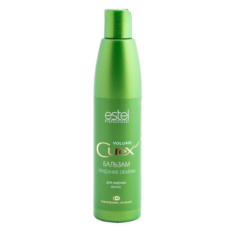 Estel Curex Volume Бальзам для придания объема для жирных волос 250 млCU250/B2Бальзам для придания объема Estel Curex Volume для жирных волос cодержит сбалансированный витаминный комплекс, увлажняет и питает волосы, придает им эластичность. Обладает превосходным кондиционирующим эффектом, облегчает расчесывание. Результат: Великолепный объем Шелковистые блестящие волосы Легкость расчесывания.