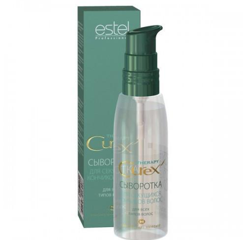 Estel Curex Therapy Сыворотка для секущихся кончиков волос 100 млCU100/SЕEstel Curex Therapy Сыворотка для секущихся кончиков волос. Сыворотка с природным биополимером восстанавливает поврежденные и секущиеся кончики волос. Содержит хитозан, провитамин В5 и глицерин. Восстанавливает, увлажняет и питает волосы, придает здоровый блеск.