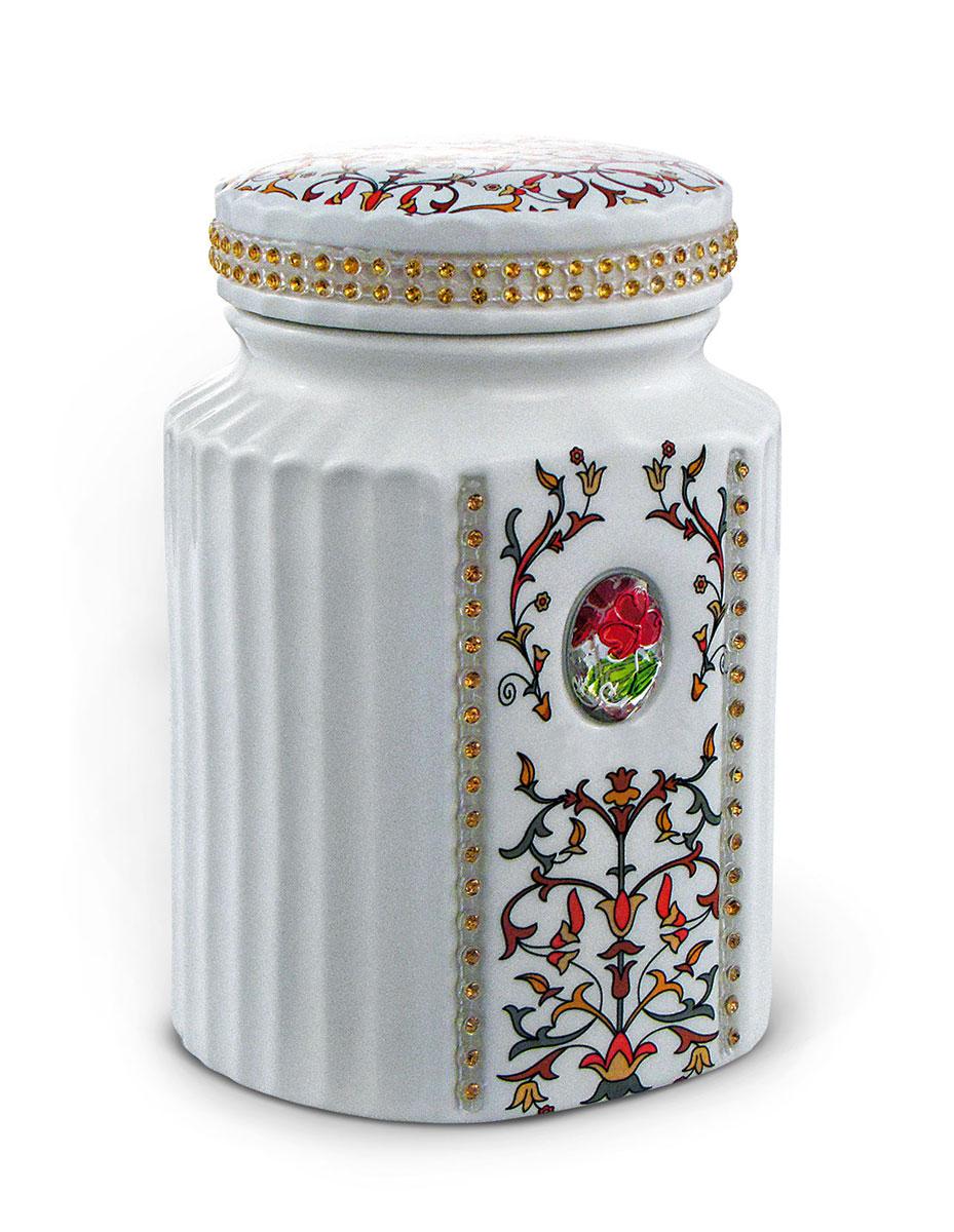 Teabreeze Восточная коллекция Очарование востока чай ароматизированный в керамической чайнице, 100 г 4620009890400_Восточная коллекция