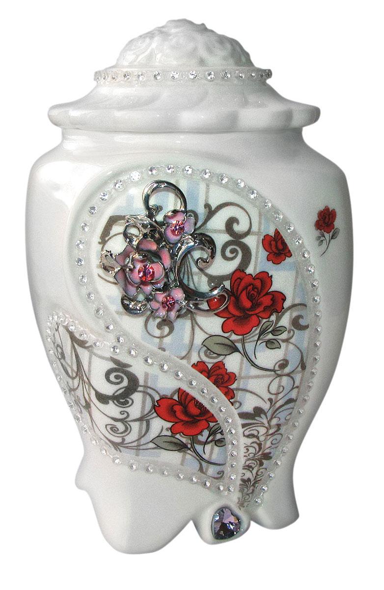 Teabreeze Земляника со сливками чай ароматизированный в керамической чайнице, 100 г 4620009890370_Регулярная коллекция