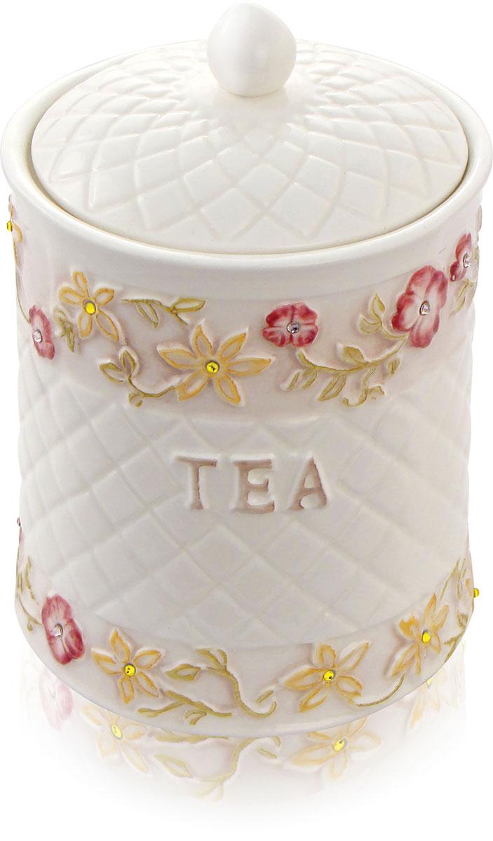 Teabreeze Европейская коллекция Земляника со сливками чай ароматизированный в керамической чайнице, 100 г 4620009890370_Европейская