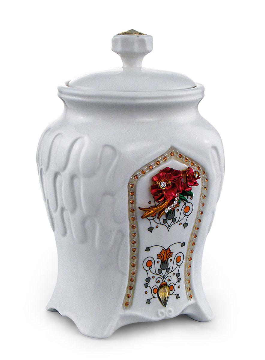 Teabreeze Восточная коллекция Волшебная ночь чай ароматизированный в керамической чайнице, 100 г 4620009890349_Восточная коллекция