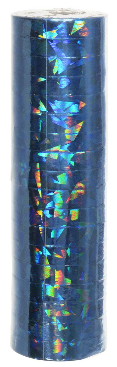 Susy Card Серпантин Металлик цвет голубой11144763_голубойСерпантин Action - это яркие узкие ленты из бумаги с металлическим блеском, свернутые в рулончики. Их можно бросать в публику во время праздников, балов и маскарадов, либо развешивать в местах проведения празднеств. Серпантин уместен на торжестве любого формата.