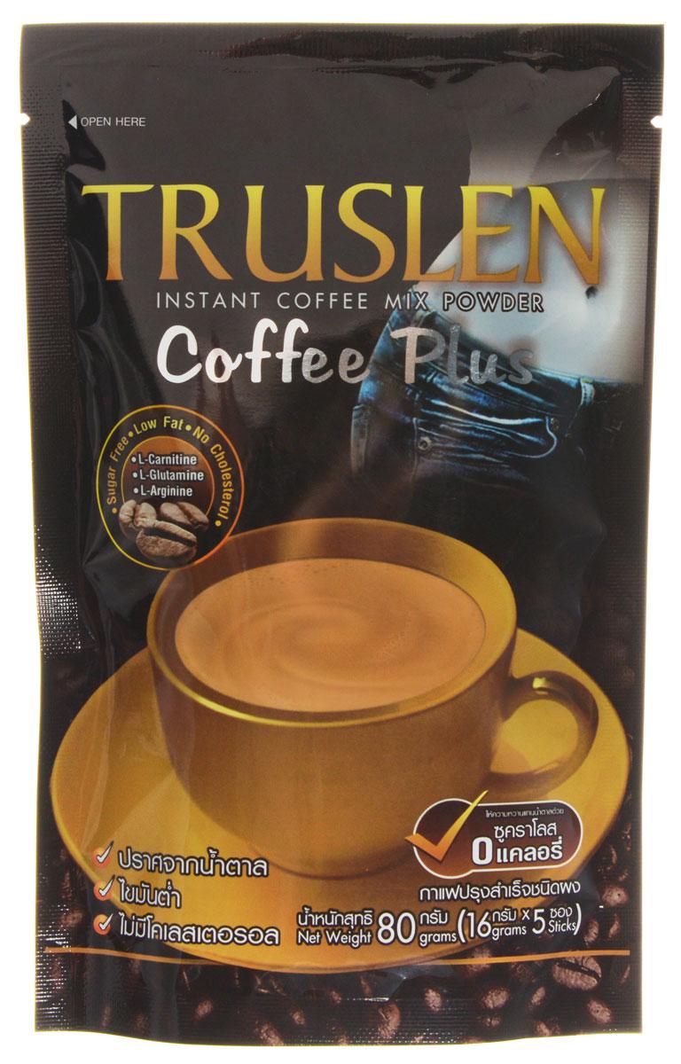 Truslen Cofee Plus кофейный напиток в пакетиках, 5 шт