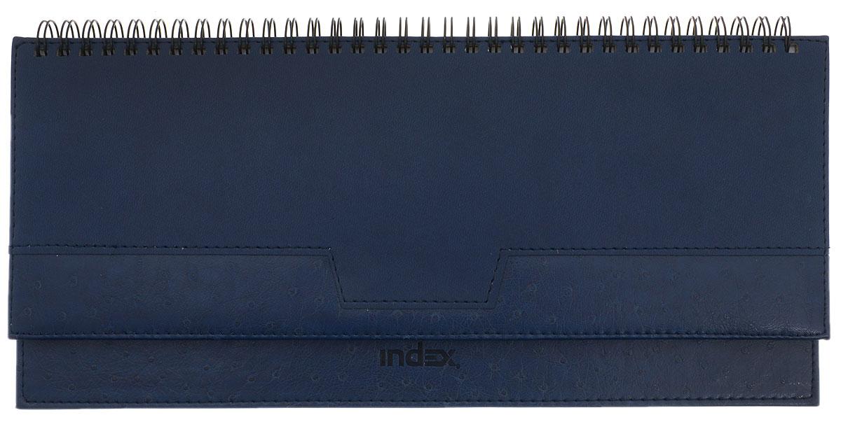 Index Планинг Desert недатированный 64 листа цвет синий IPN105/BU