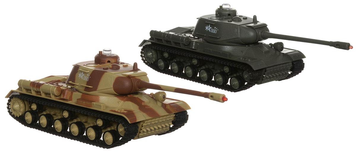 Bluesea Танковый бой на радиоуправлении529Игровой набор Танковый бой, в который входят два танка с радиоуправлением и инфракрасными пушками - это сражения, которые можно устроить прямо у вас в комнате! Два танка работают на разных частотах для их одновременного управления с разных пультов. Танки оснащены реалистичной моторикой башен для точного прицельного огня. Башни вращаются на 180 градусов. При точном выстреле в танк из инфракрасной пушки, датчик регистрирует попадание: после 4-х попаданий, танк теряет возможность управлять башней. После 5-го попадания, танк останавливается, проиграв бой. Управление танками очень реалистичное. Движение танков, повороты башен и выстрелы сопровождаются звуковыми и световыми эффектами. Полноценный гусеничный привод позволяет разворачиваться на месте, ездить по бездорожью, преодолевать препятствия и развивать достаточно высокую скорость. Движение вперед/назад, поворот направо/налево. Отличная игрушка, как для ребенка, так и для взрослого. Каждый танк...