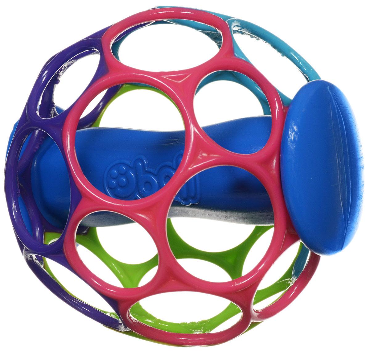 Oball Мячик с поплавком10246Мячик с поплавком Oball не только делает купание в ванной веселым, но и развивает мелкую моторику рук, а также обостряет тактильные ощущения малыша. Изготовлена игрушка из мягкого гибкого пластика, который приятен на ощупь и не поранит ребенка. Мячик обладает на удивление пестрой и яркой расцветкой. Благодаря поплавку, мячик держится на воде, а за счет отверстий мыльная пенка может стать более пышной. Для ребенка это может быть первой в жизни забавной игрой в мяч.