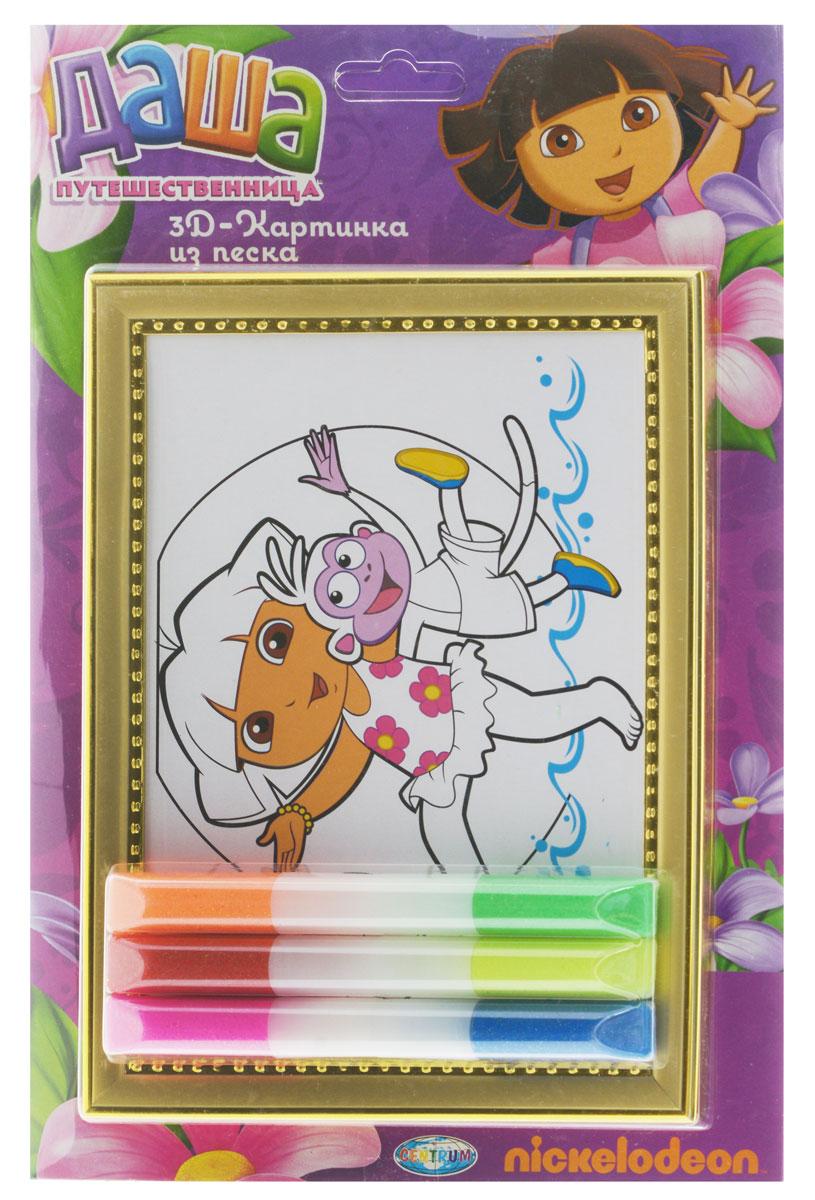 Даша - путешественница Набор для создания картины из цветного песка 84748