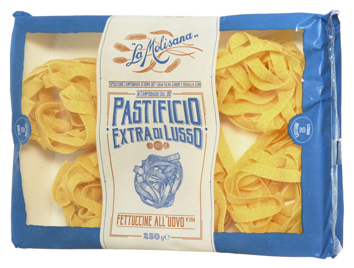 La Molisana Fettuccine яичная лапша в гнездах макаронные изделия 250 г