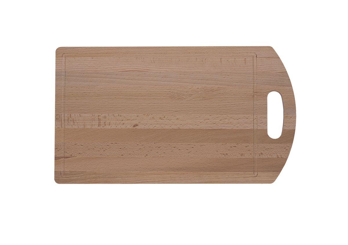 Доска разделочная Proffi, бук,40 x 23 смPH6557Доски разделочные из бука, а также прочая кухонная утварь - лопатки, ложки, толкушки, скалки, блюда и т.д. - выбор профессиональных поваров. Бук обеспечивает идеальную поверхность для обработки различных пищевых продуктов, не говоря уже о его чисто эстетических свойствах.