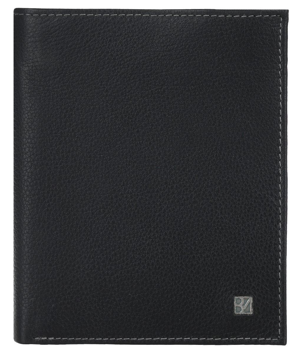 Портмоне мужское Bodenschatz, цвет: черный. 8-978/018-978/01Стильное мужское портмоне Bodenschatz выполнено из натуральной кожи мелкого зернистого тиснения. Внутренняя часть изделия выполнена из текстиля и натуральной кожи. Изделие раскладывается пополам. Портмоне содержит два открытых отделения для купюр, восемь кармашков для визиток и пластиковых карт, один сетчатый кармашек, три потайных кармана, два дополнительных открытых кармана, карман для мелочи застегивается на клапан с кнопкой. Снаружи предусмотрен открытый пришивной кармашек. Внутри модель оформлена тиснением в виде названия бренда производителя. Лицевая сторона декорирована металлической пластиной логотипа бренда. Портмоне упаковано в фирменную картонную коробку. Оригинальное портмоне подчеркнет вашу индивидуальность и изысканный вкус, а также станет замечательным подарком человеку, ценящему качественные и практичные вещи.