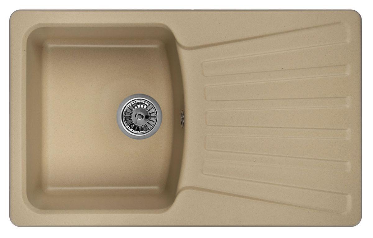 "Мойка Weissgauff ""Classic 800 Eco Granit"", цвет: шампань, 80,0 х 19,5 х 49,0 см 183405"