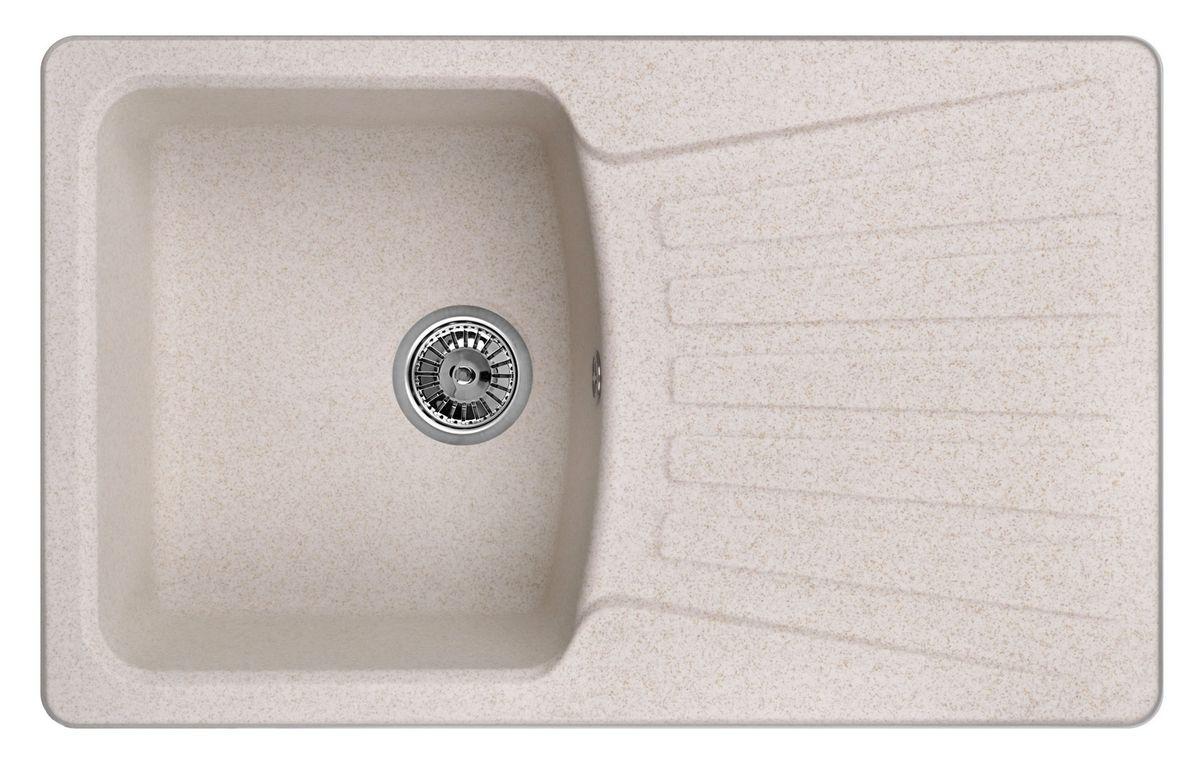 Мойка Weissgauff Classic 800 Eco Granit, цвет: светло-бежевый, 80,0 х 19,5 х 49,0 см267298Гранитные мойки Weissgauff Eco Granit – классическая коллекция моек, изготовленных из специально подобранных композитных материалов , содержащих оптимальное сочетание 80% каменной массы высокого качества и 20% связующих материалов. Оригинальный и функциональный дизайн - технология изготовления позволяет создавать любые цвета и формы, оптимальные для современных кухонь. Мойки Weissgauff легко подобрать к интерьеру любой кухни, для разных цветов и форм столешниц Влагостойкость - отталкивание влаги – одна из примечательных особенностей моек из искусственного камня за счет связующих композитных материалов, которые продлевают их срок службы и способствуют сохранению первоначального вида Термостойкость - подвергая мойки воздействию высоких температур, например, различными горячими жидкостями, будьте уверенны, что мойки Weissgauff – эталон стойкости и качества, так как они устойчивы к перепаду температур. Специальный состав моек Weisgauff избавляет от проблемы...